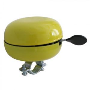Bel nietverkeerd ding-dong 80mm geel