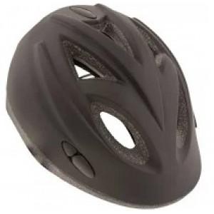 Helm kinder zwart glans 52-56 AGU