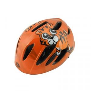 Helm  Kinder bell zipper tijger oranje