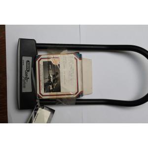 Beugel slot ABUS GRANIT met cordo aeroklem zwart