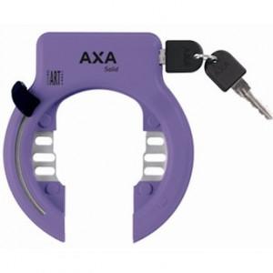 Axa ringslot Solid paars