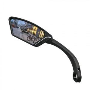 Spiegel E-bike zwart, links om het stuur o.a. voor E-bike glazen spieg