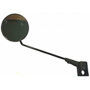 Klapbare spiegel krampe zwart