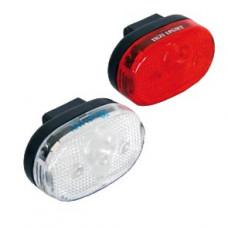 Koplamp/achterlicht set 3 LED