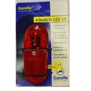 Gazelle Achterlicht LED XB Spanninga