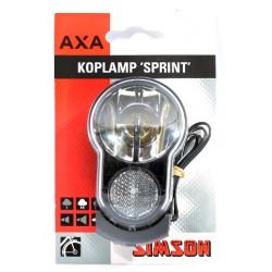 Koplamp AXA naafdynamo sprint 20