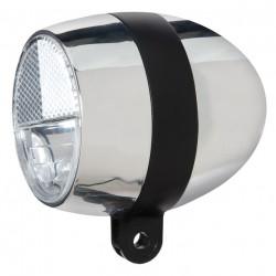 Cortina koplamp Amsterdam batterijen chroom / Black