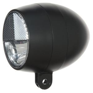 Cortina koplamp Amsterdam batterijen Black zwart