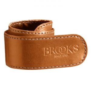 Brooks broekklem leer l bruin