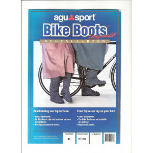 AGU BIKE BOOTS REFLECTION KORT PETROL XL