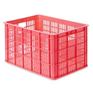 Basil transport krat groot fluor roze 50L