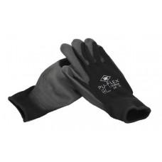 Werkhandschoenen pu-flex zwart