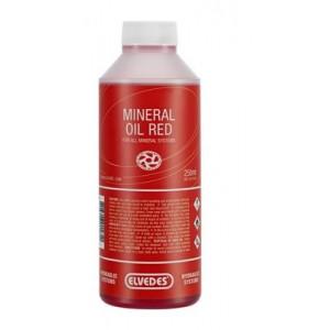 Elvedes mineraalolie rood 250ml