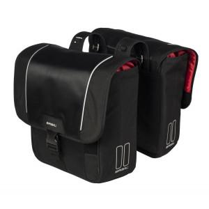 Basil Sport Design Dubbele fietstas zwart