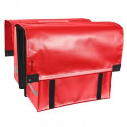 Tas dubbel cargo rood FastRider
