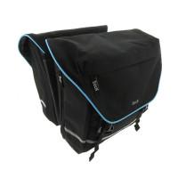 Tas Dubbel Beck SPRTV XL zwart/blauw