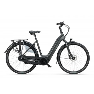 "Batavus Finez E-go Power dames 28"" smokeblack 48cm"