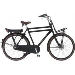 "Cortina Ecomo U4 heren 28"" elektrisch zwart 54cm"