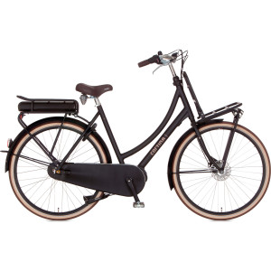 "Cortina Transport U4 dames 28"" elektrisch zwart 57cm"