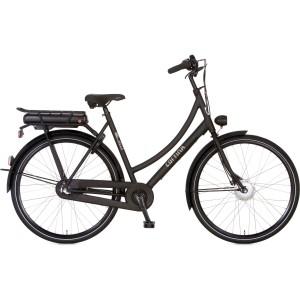 """Cortina  U1 dames 28"""" zwart E-Bike 46cm"""