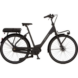 "Cortina E-Common e-bike dames 28"" Zwart mat 50cm"
