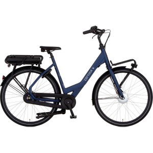 "Cortina E-Common e-bike dames 28"" Mat dull blue 57cm"