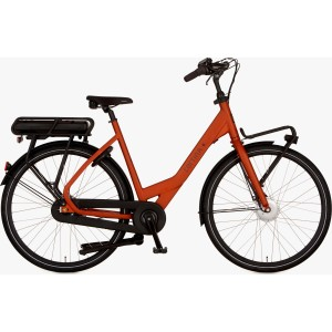 "Cortina E-Common e-bike dames 28"" Mat copper 1 57cm"