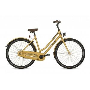 "Gazelle Olympic dames 28"" geel 54cm"