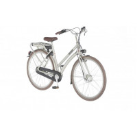 "Union E-Bendil is de E-bike 28"" dames kleur silver 3 versnelling en handremmen  53cm"