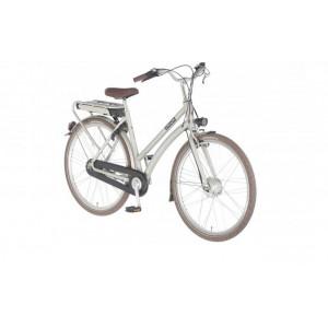 "Union E-Bendil is de E-bike 28"" dames kleur silver 3 versnelling en handremmen  53cm"