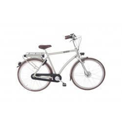 """Union E-Bendil is de E-bike 28"""" heren kleur silver  3 versnelling en handremmen  57 cm"""