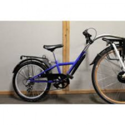 """Tandembike  20"""" + drager  3v blauw"""