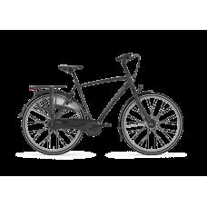 Gazelle Chamonix C8 M Black (Mat) T8 Heren