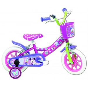 """Fiets 12"""" minnie mouse"""