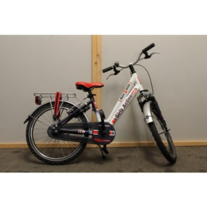 "Max 2 Bike Girls Action meisjes 24"" rood/wit 39cm"