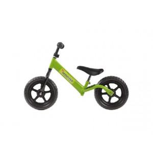 Scooter loopfiets pex 12 inch kleur groen