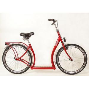 Sitgo Basic  kleur Rood  ( loopfiets )
