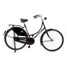 Hollandse omafiets 28x1.1/2  kleur zwart 50 cm
