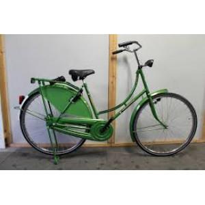 "Pointer classica RVS 28"" dames kleur groen Terugtraprem"