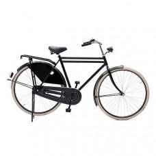 Hollandse opafiets 28x1.1/2 kleur zwart 61 cm