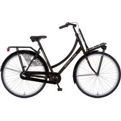 Cortina Milo Dames terugtraprem 3 versnelling kleur zwart 57 cm