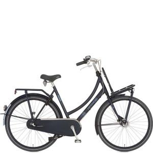 "Cortina U4 dames trugtraprem 3 versnelling 61 cm kleur zwart.blauw 28"""