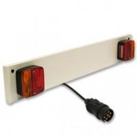 lichtbalk + 7p stekker (click on)