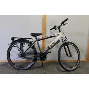 """Gazelle Bike jongens 26"""" 43 cm 3 versn grijs"""