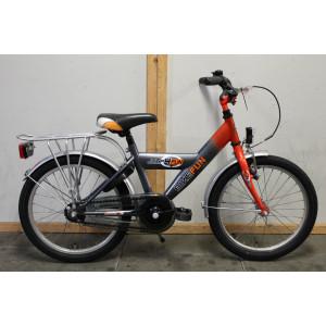 """Bike fun jump 4 fun jongens 18"""" grijs 28cm"""