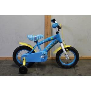 """Minions kinderfiets 12.5"""" blauw 21cm"""