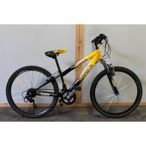 "Abrar hot rod ATB/cross fiets 24"" geel 31cm"