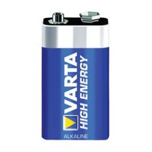 Batterij varta alkaline 9v (p1)