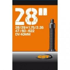 Binnenband cst 40/60-622/635 (28/29x1.75/2.35) holland ventiel 40mm