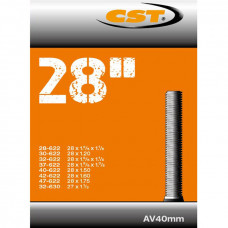 Binnenband cst 28/47-622/635 (28x13/8-11/4-11/8) auto ventiel 40mm